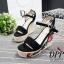 รองเท้าส้นเตารีด Platform GC (สีครีม) thumbnail 7