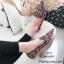 รองเท้าคัทชูต่อผ้าหลากสี (สีดำ) thumbnail 3