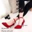 รองเท้าคัทชูกำมะหยี่รัดข้อ (สีดำ) thumbnail 5