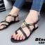 รองเท้าแตะรัดส้นสไตล์ Dior (สีดำ) thumbnail 3