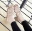 รองเท้าส้นตันแต่งอะไหล่ Style Zara (สีตาล) thumbnail 2