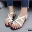 รองเท้าแตะรัดส้นสไตล์ Dior (สีดำ) thumbnail 8
