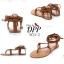 รองเท้าแตะพันขาสไตล์โบฮีเมียน (สีดำ) thumbnail 12