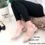 รองเท้าคัทชูรัดส้นทรงหัวแหลม (สีครีม) thumbnail 5