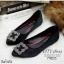 รองเท้าคัทชูส้นแบนสไตล์MN (สีแดงเลือดหมู) thumbnail 4