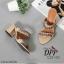 รองเท้าส้นตัน Style Givenchy (สีเทา) thumbnail 7