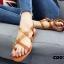 รองเท้าแตะรัดส้นสไตล์ Dior (สีดำ) thumbnail 12