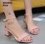รองเท้าส้นตันรัดข้อ (สีเทา) thumbnail 13