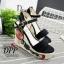 รองเท้าส้นเตารีด Platform GC (สีครีม) thumbnail 5