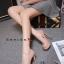 รองเท้าคัทชูส้นสูงทรงเปิดนิ้ว (สีดำ) thumbnail 11