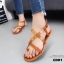 รองเท้าแตะรัดส้นสไตล์ Dior (สีดำ) thumbnail 11