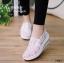 รองเท้าลูกไม้ทรงสปอร์ต (สีขาว) thumbnail 1