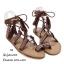 รองเท้าแตะสานสไตล์โบฮีเมียน thumbnail 5