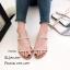 รองเท้าแตะสวมแต่งอะไหล่ (สีเทา) thumbnail 6