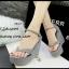 รองเท้าส้นเตารีดแบบคีบ (สีเทา) thumbnail 2