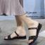 รองเท้าแตะสวมแต่งคริสตัล (สีทอง) thumbnail 3