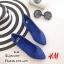รองเท้าส้นแบนสไตล์ HM (สีครีม) thumbnail 6