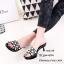 รองเท้าแตะสวมแต่งมุก (สีดำ) thumbnail 3
