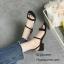 รองเท้าส้นเตี้ยสไตล์ลำลอง (สีเทา) thumbnail 4