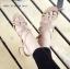 รองเท้าส้นตันแต่งอะไหล่ Style Zara (สีตาล) thumbnail 3