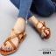 รองเท้าแตะรัดส้นสไตล์ Dior (สีดำ) thumbnail 15