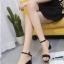 รองเท้าส้นตันรัดข้อ (สีเทา) thumbnail 7