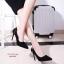 รองเท้าคัทชูส้นสูงแต่งมุก (สีเทา) thumbnail 9