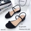 รองเท้าส้นเตี้ยสไตล์ลำลอง (สีเทา) thumbnail 6