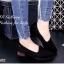 รองเท้าคัทชูส้นเตี้ยทรง Loafer (สีดำ) thumbnail 1