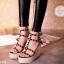 พร้อมส่ง : รองเท้าส้นตึก Valentino Style (สีดำ) thumbnail 2