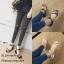 รองเท้าแตะเสริมส้นแต่งสายผูก (สีครีม) thumbnail 6