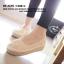 พร้อมส่ง : รองเท้าลูกไม้เสริมส้นวนปอ thumbnail 2