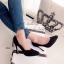 รองเท้าคัทชูส้นสูงดำเรียบ thumbnail 3