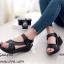 รองเท้าลำลองเย็บลาย (สีแทน) thumbnail 4