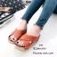 รองเท้าส้นเตารีดสวมไข้ว (สีครีม) thumbnail 11