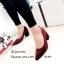 รองเท้าคัทชูส้นตันทรงหุ้มส้น (สีดำ) thumbnail 5