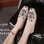 รองเท้าคัทชูทรงสวมปักลายผึ้ง Style Gucci (สีดำ) thumbnail 8