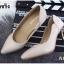 รองเท้าคัทชูส้นโลหะทรงหัวแหลม (สีดำ) thumbnail 12