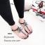 รองเท้าแตะแต่งเพชรสไตล์ CC (สีดำ) thumbnail 4