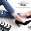 รองเท้าคัทชูกำมะหยี่สีเรียบ (เทา) thumbnail 6