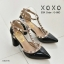 รองเท้าคัทชูส้นตันสไตล์ Valentino (สีเทา) thumbnail 5