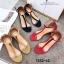 รองเท้าส้นตัน Style Zara T-Strap (สีแดง) thumbnail 13