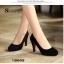 รองเท้าคัทชูสีดำกำมะหยี่ thumbnail 2
