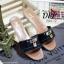 รองเท้าแตะสวมสไตล์ LV (สีเทา) thumbnail 4