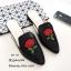 รองเท้า Slipper ปักลาย (สีดำ) thumbnail 1
