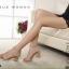 พร้อมส่ง : รองเท้ารัดส้นผ้ากากเพชร (สีทอง) thumbnail 3