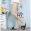 รองเท้าแตะโบว์สไตล์แฟชั่นเกาหลี (สีดำ) thumbnail 16