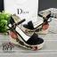 รองเท้าส้นเตารีด Platform GC (สีครีม) thumbnail 6