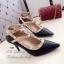 รองเท้าคัทชูหุ้มส้น Valentino Style (สีครีม) thumbnail 3
