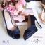 รองเท้าคัทชูซาตินเปิดเท้า (สีดำ) thumbnail 8